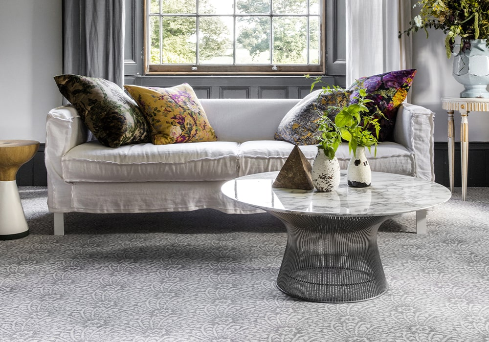 Our eco carpets are made by hand on a traditional loom from 100% natural wool