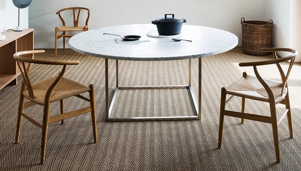 Natural Herringbone Carpets
